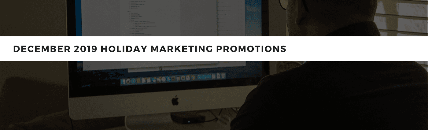 Which marketing promotion will you do in December?